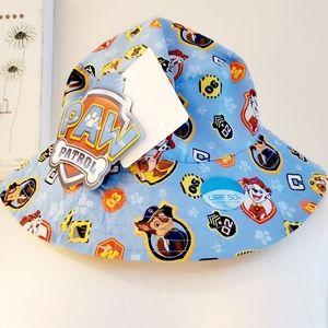 NWT Nickelodeon Boy's Paw Patrol Bucket Hat